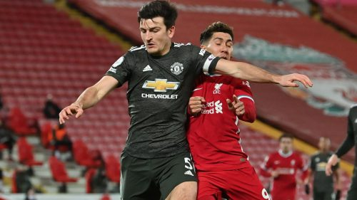 Maguire stops Firmino