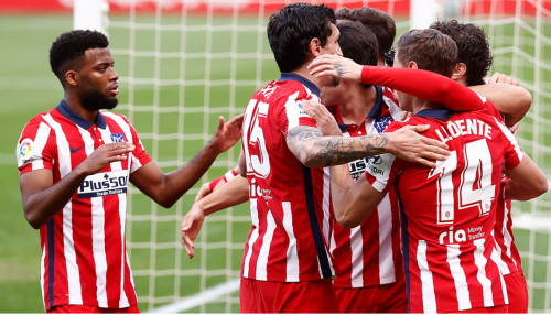 Atletico Madrid are currently sitting at the top of La Liga table